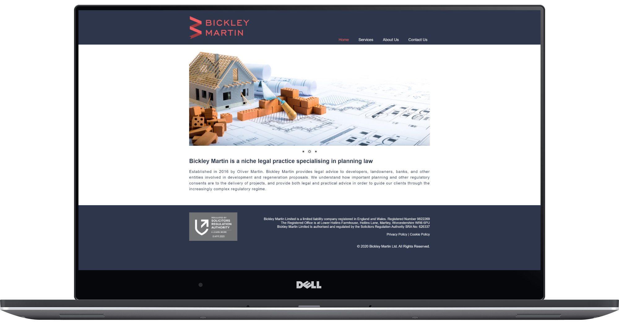 Bickley Martin Laptop Screenshot