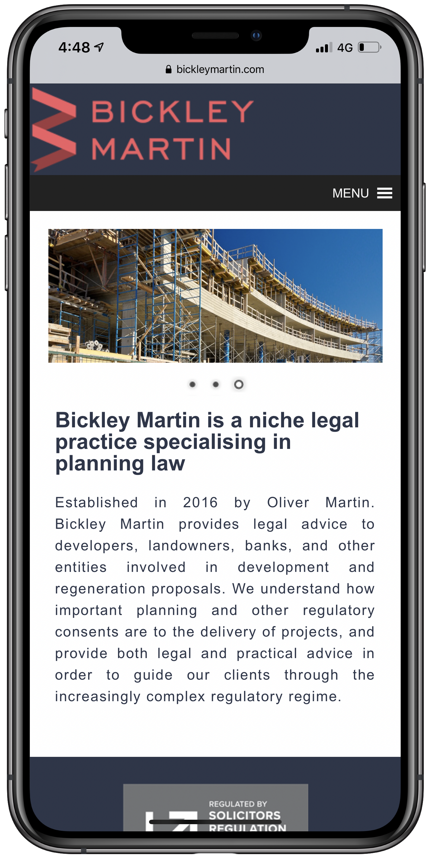 Bickley Martin Mobile Screenshot