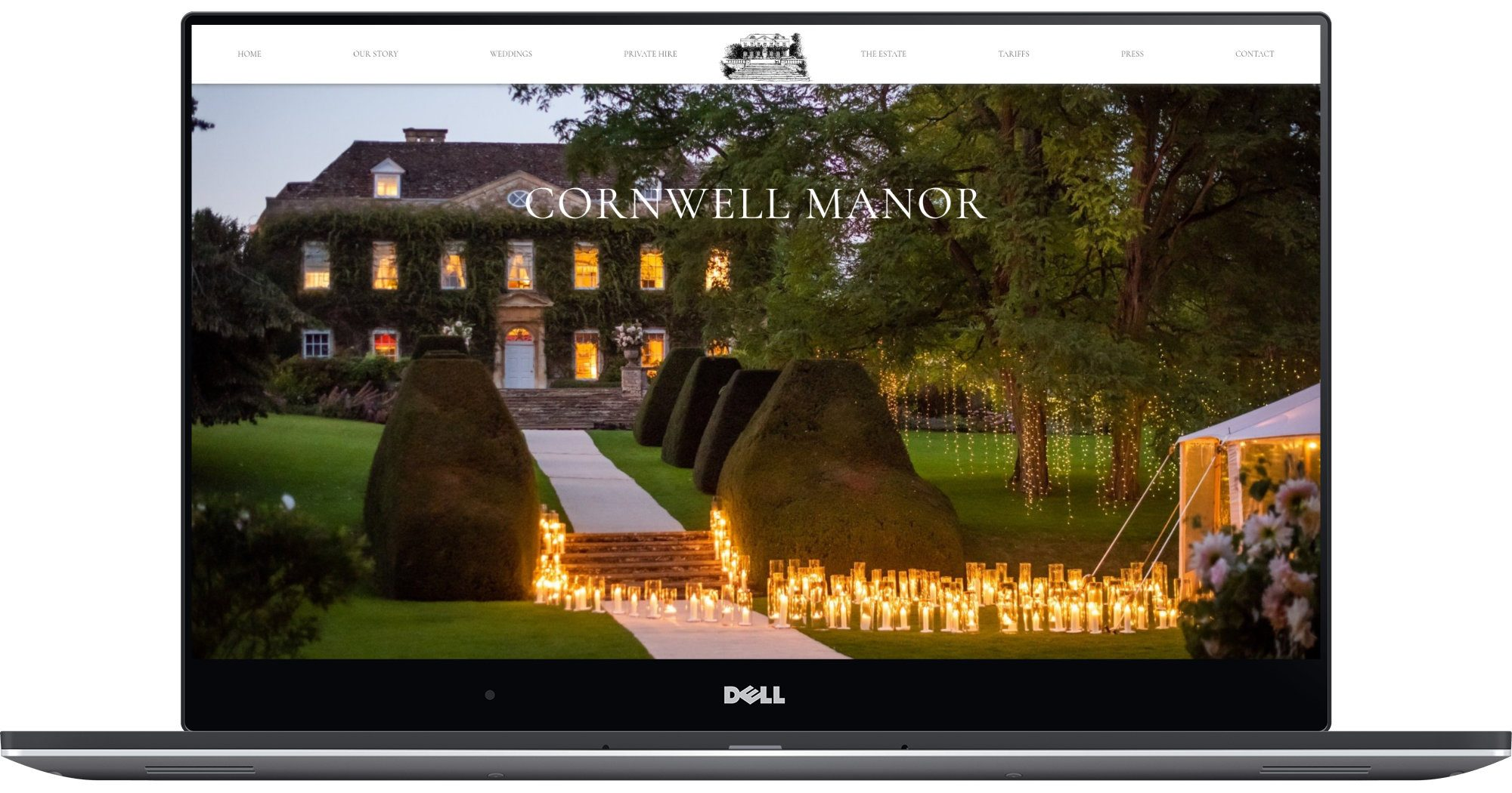 Cornwell Manor Laptop Screenshot