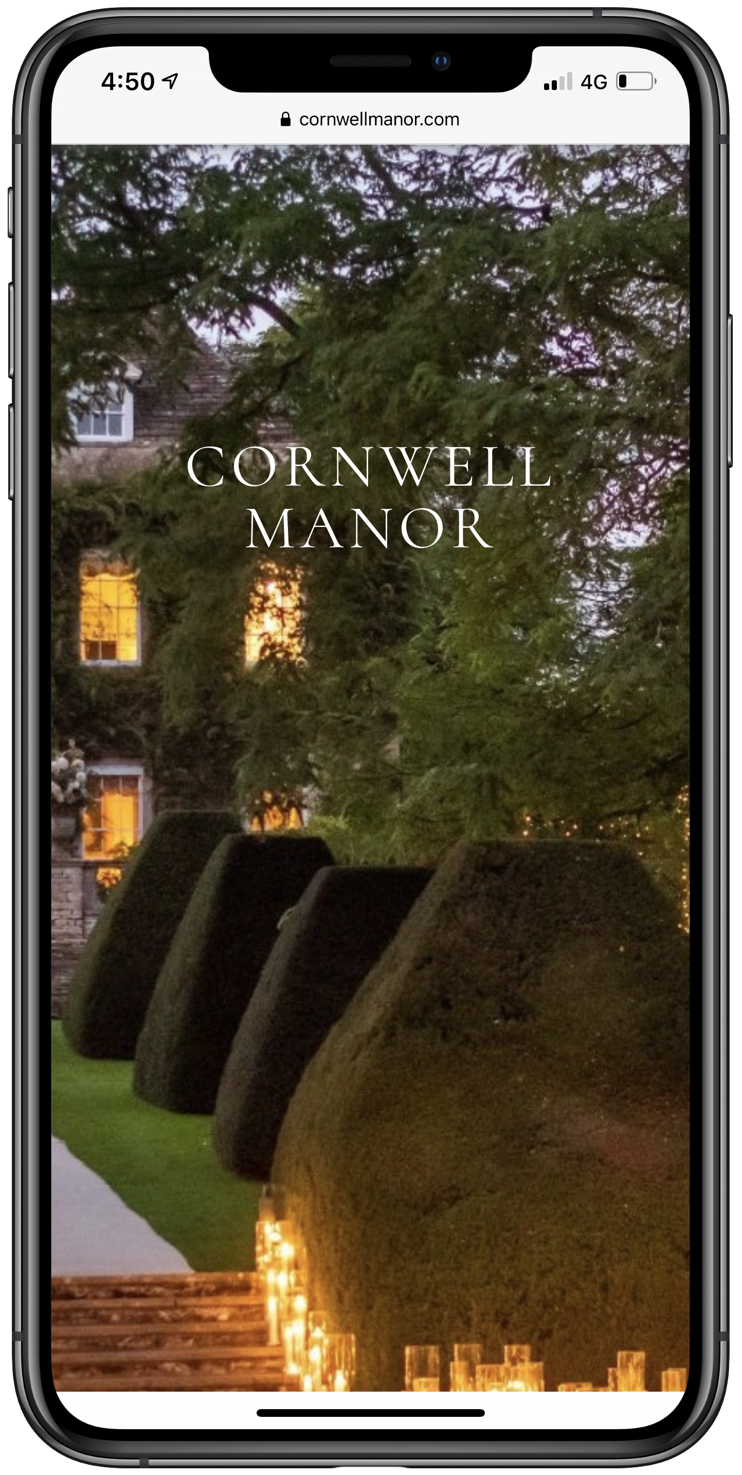 Cornwell Manor Mobile Screenshot