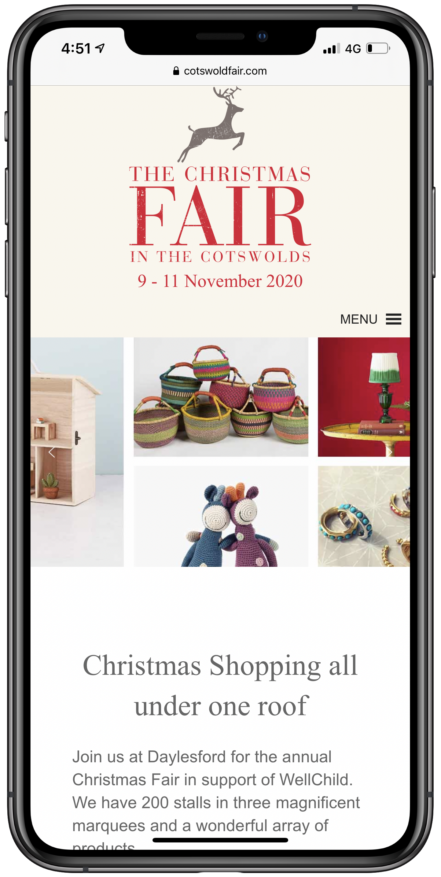 Cotswold Fair Mobile Screenshot