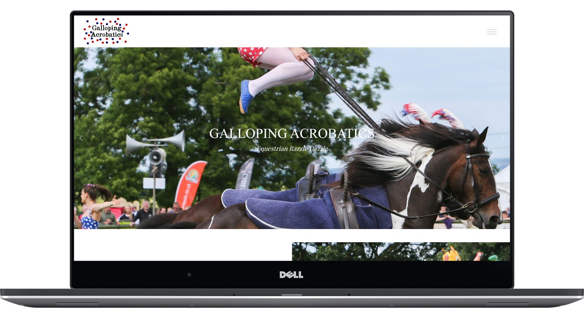 Galloping Acrobatics Laptop Screenshot