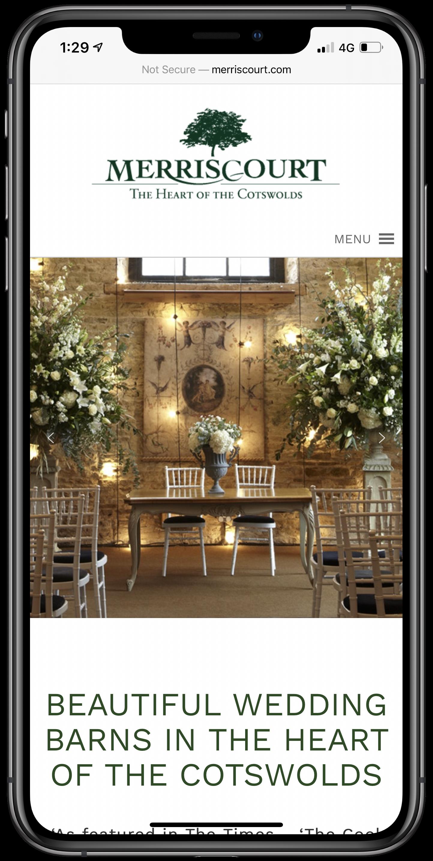 Merriscourt Mobile Screenshot