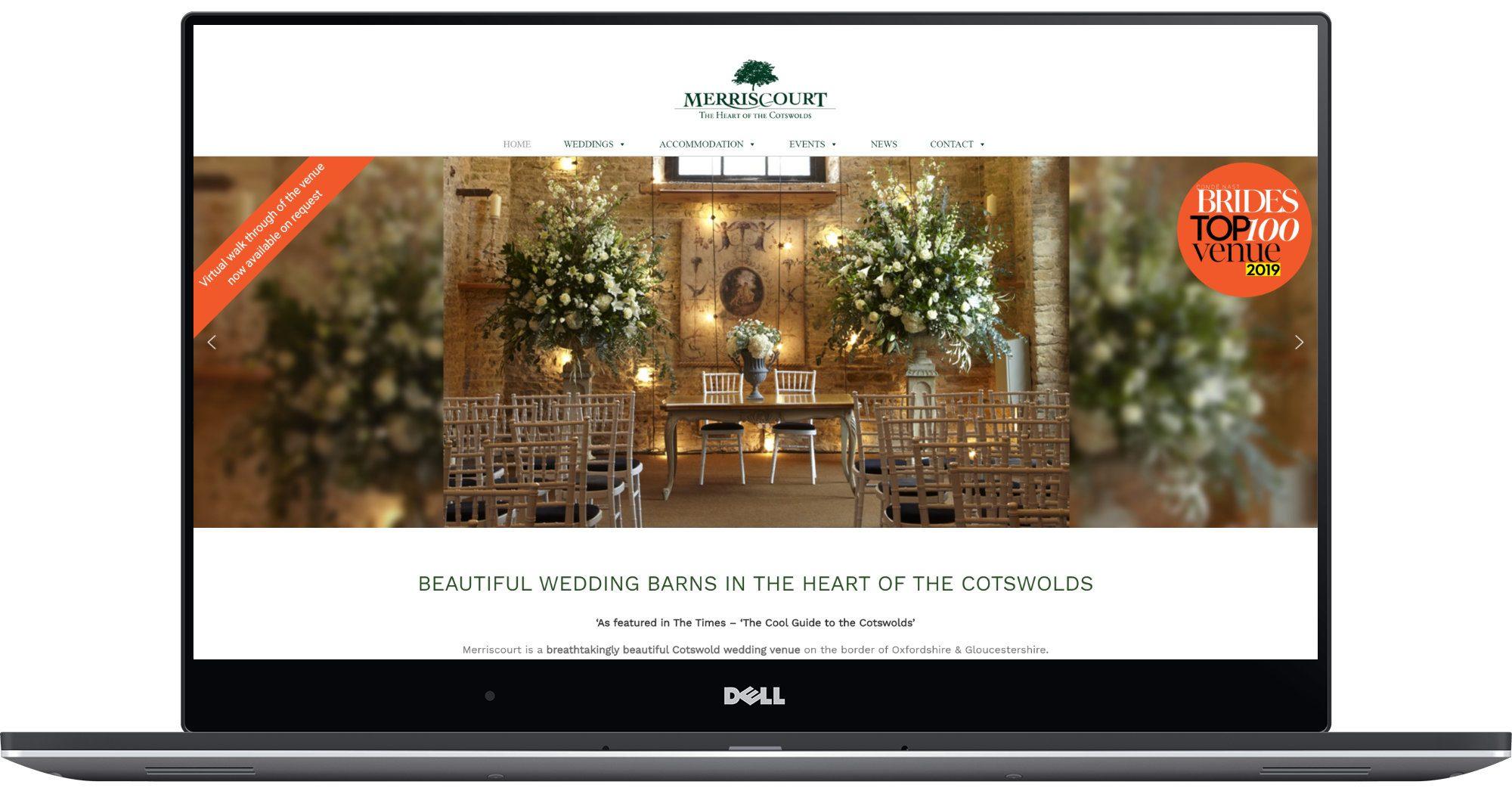 Merriscourt Laptop Screenshot