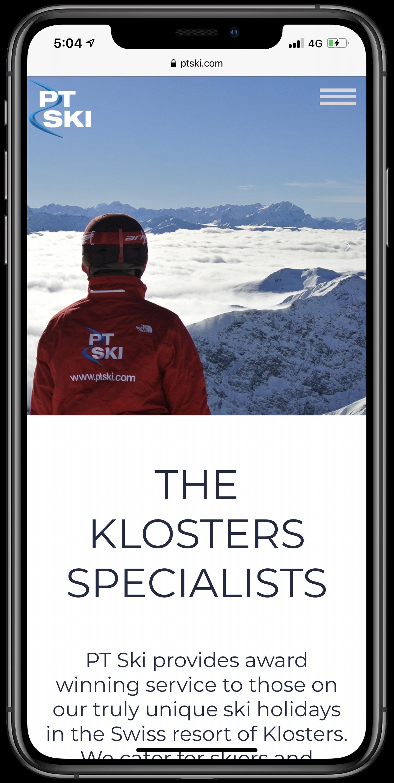 PT Ski Mobile Screenshot