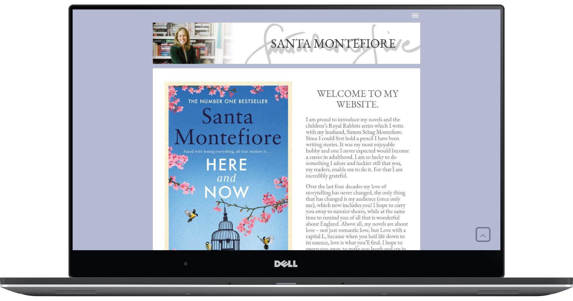 Santa Montefiore Laptop Screenshot