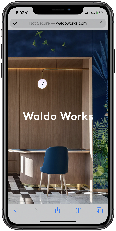 Waldo Works Mobile Screenshot