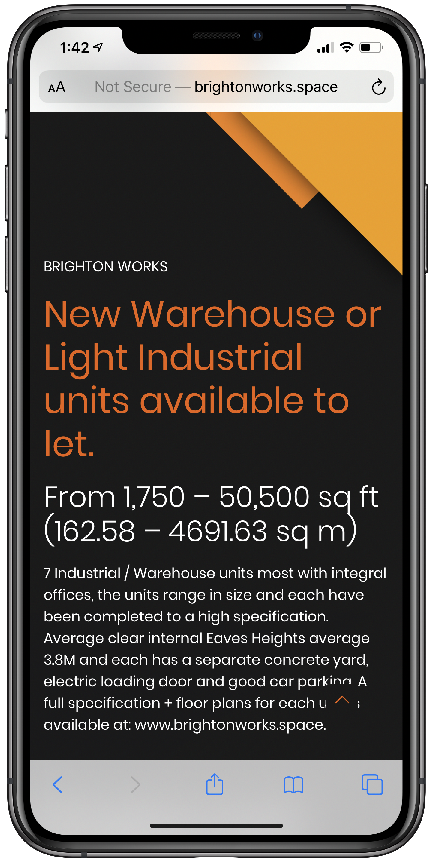 Brighton Works Mobile Screenshot