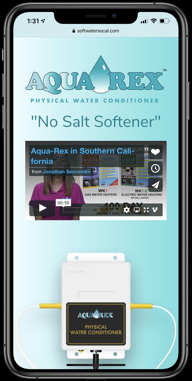 Soft Water SoCal Mobile Screenshot
