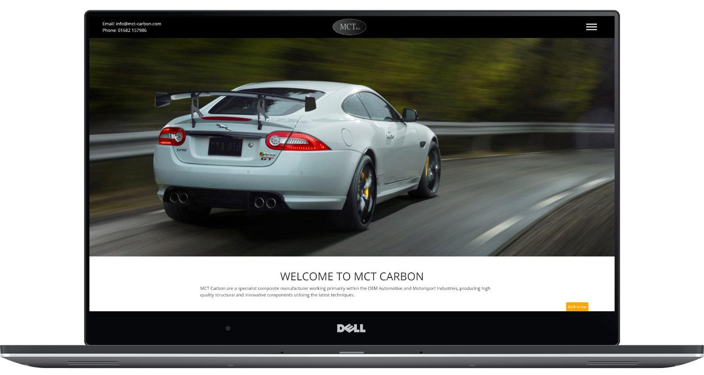 MCT Carbon Laptop Screenshot
