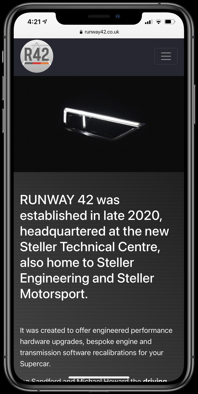 Runway 42 Mobile Screenshot